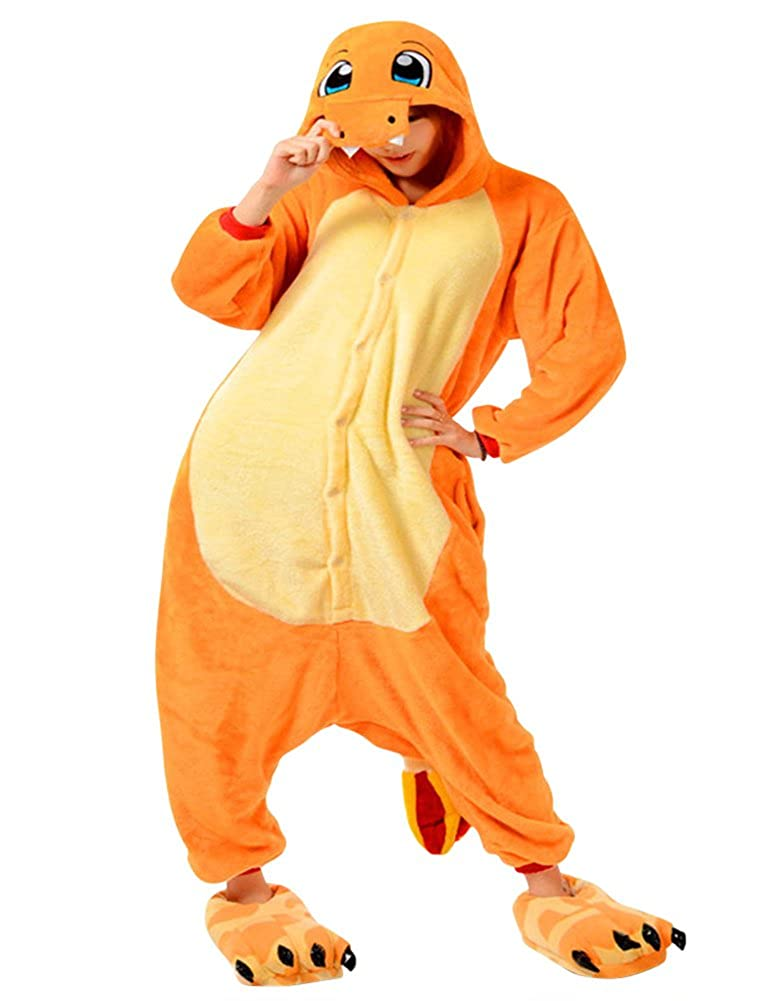 Molly Unisex Adult Kigurumi Homewear Pajamas Cosplay Costume Sleepwear L Charmander