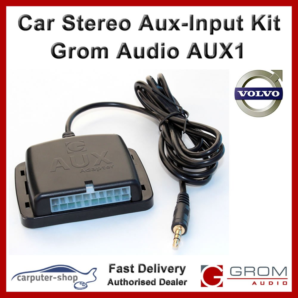Grom Audio Aux1 Aux Input Auxiliary Adapter Interface 2001 Volvo S80 Battery Location Electronics