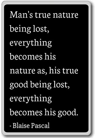 Amazoncom Mans True Nature Being Lost Everything Beco