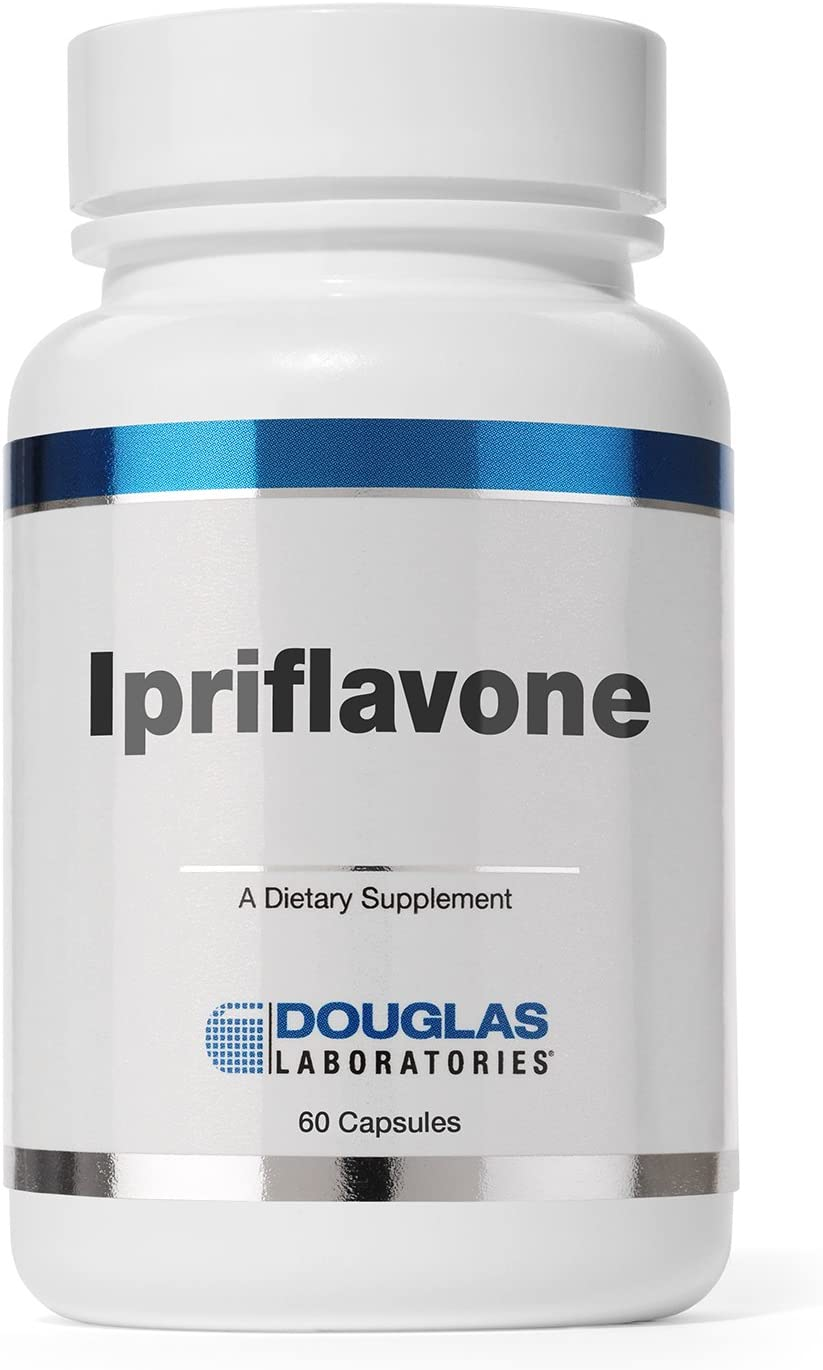 Douglas Laboratories – Ipriflavone 300 mg. – Flavonoids for Support of Healthy Bone Structure* – 60 Capsules