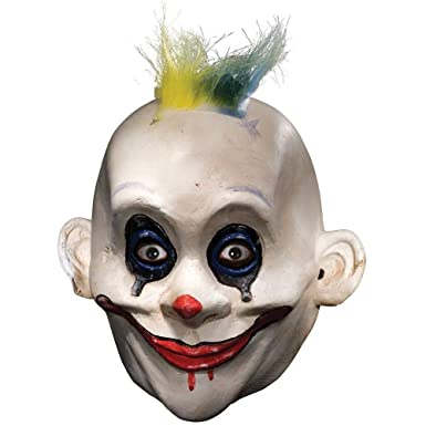 Amazon Com Joker Grumpy Mask Adult Mens The Dark Knight Halloween