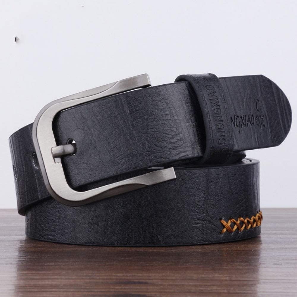 Youth Jeans Belt Gift Casual Belt Vintage Decorative Belt XQY Mens pin Buckle Belt