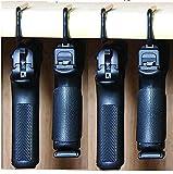 Safety Solutions For Gun Storage Pack of 4 Original Handgun Hangers (Hand made in USA) (4 hangers)