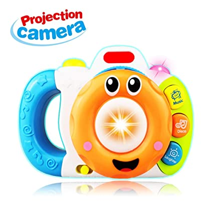 Amazon Com Sugoo Gift For 6 12 Months Baby Boys Camera Toy For 1 3