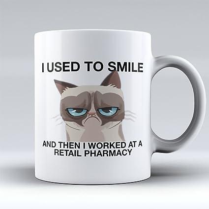 6fed98fd9 Pharmacy Technician Coffee Mug - Pharmacist Coffee Cup - Funny Pharmacy  Technician Gifts -I Worked