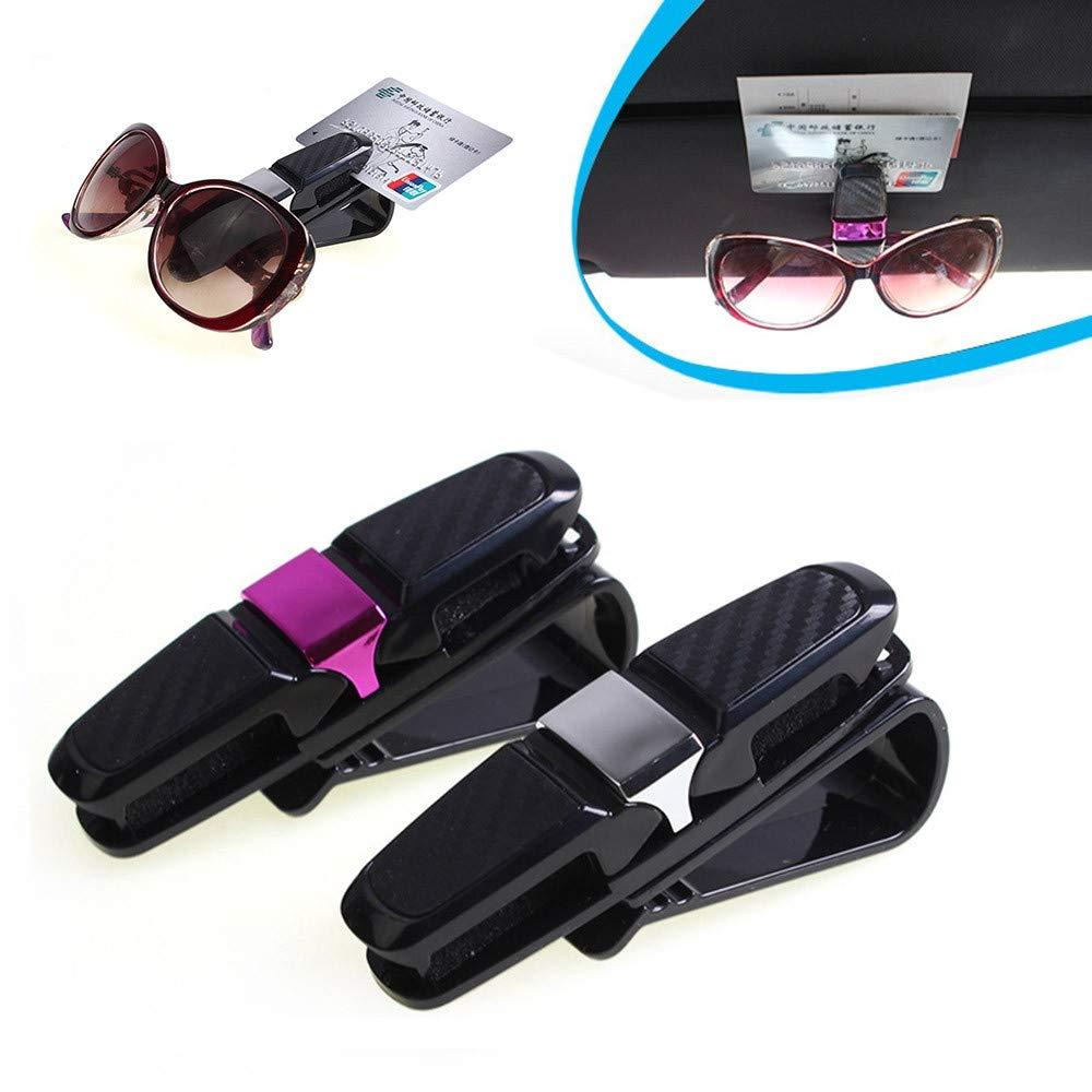 WBXHZYDGJ Car Glasses Frame car car Sun Visor Holder for Reading Glasses Sunglasses Glasses Card Pen
