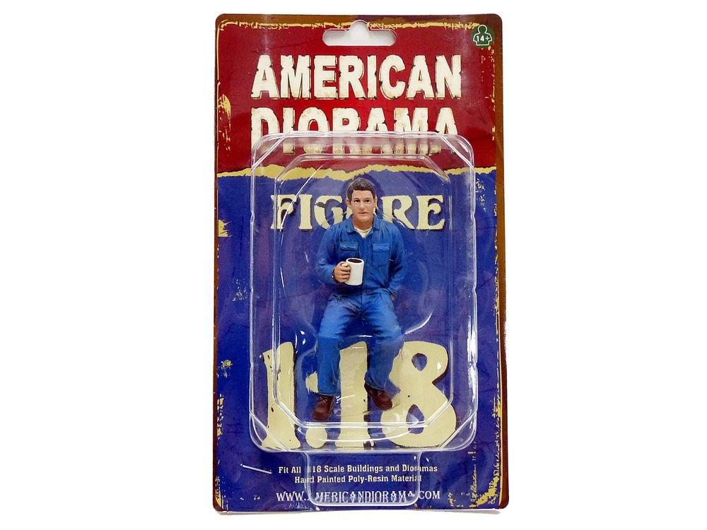American Diorama 77450Figur Mechaniker–4–Maßstab 1/18