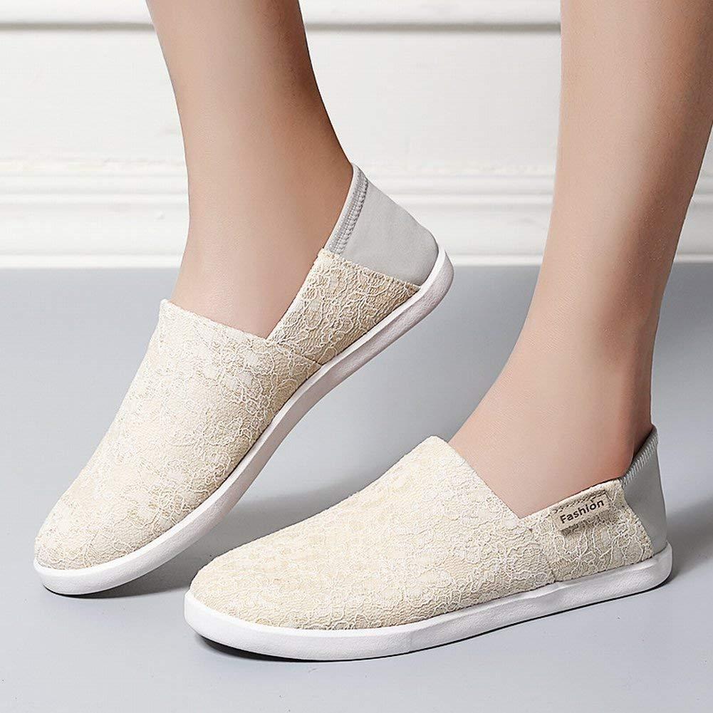 Fuxitoggo Atmungsaktive Atmungsaktive Atmungsaktive Knospenseidenstofffrauen Beschuht Einfache und Leichte Schuhe im Freienfreizeit-Reiseschuhe (Farbe   Polieren Größe   35) 5bff68