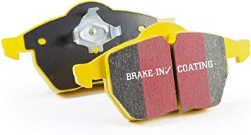 FAST STREET, TRACK, RACE EBC YELLOWSTUFF BRAKE PADS FRONT DP4032R