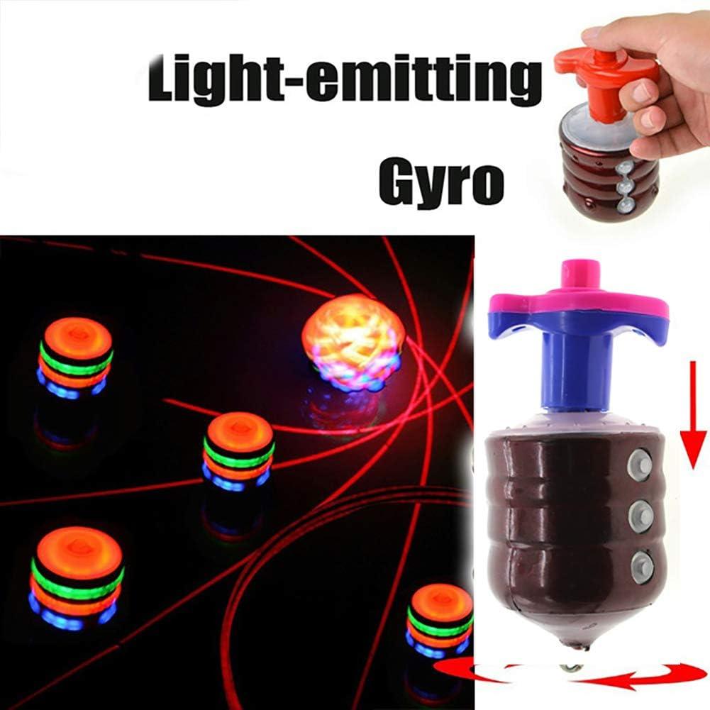 Bunte Gyro Kreisel Spielzeug Mit Licht-Ton-Musik-Spielzeug-Musik-Gyroskop Gyro-Kind-Jungen-Geschenke