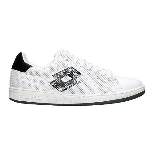 Lotto - Zapatillas para hombre blanco blanco / negro: Amazon.es: Zapatos y complementos