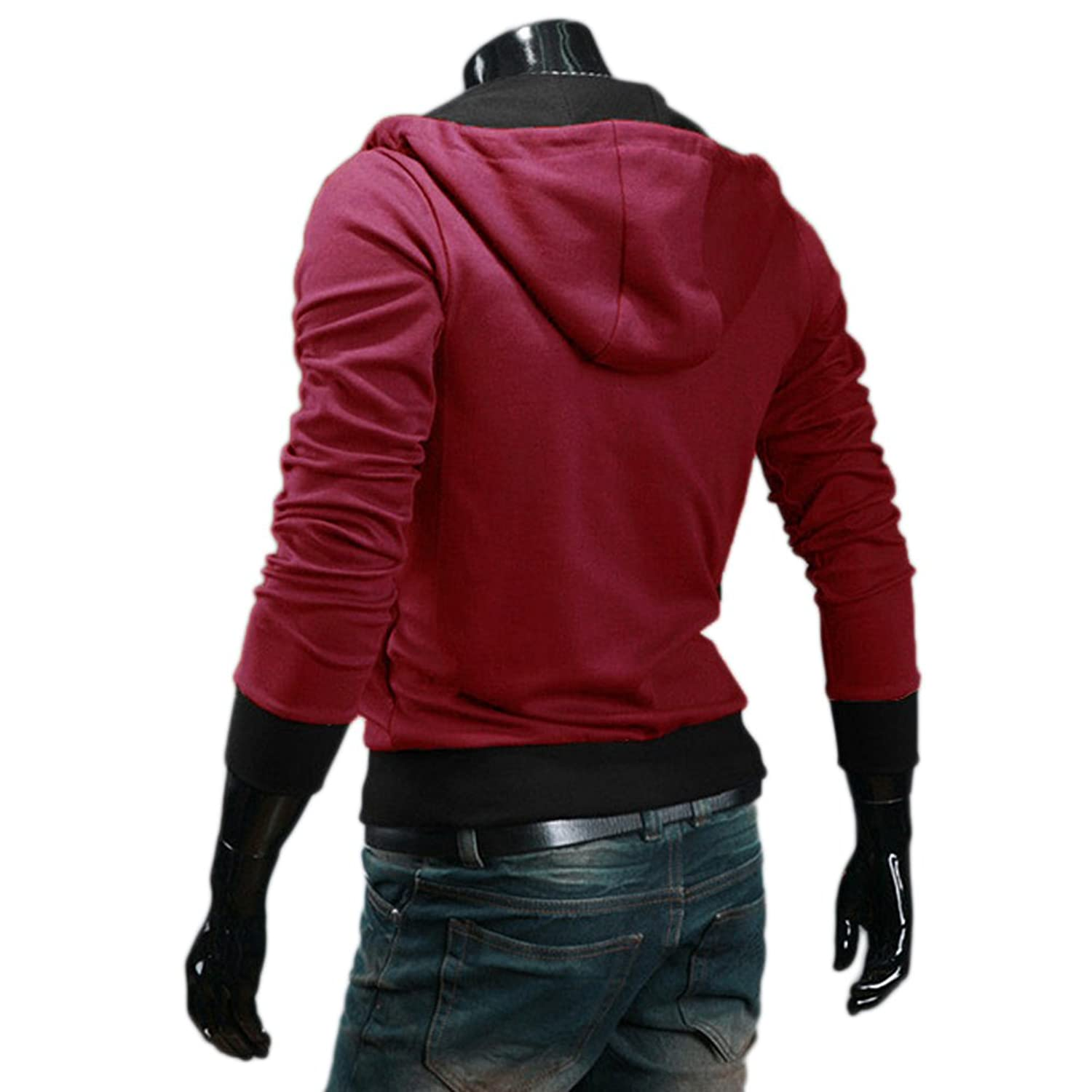 Amazon.com: Aokin Assassins Creed 3 Desmond Miles Cosplay Costume ...