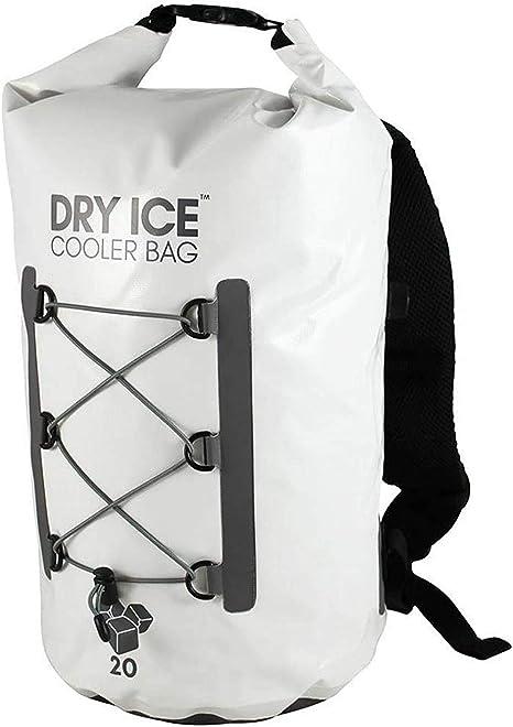 Dry Ice 20L Cooler Bag/Nevera Portátil Mochila - Blanco ...