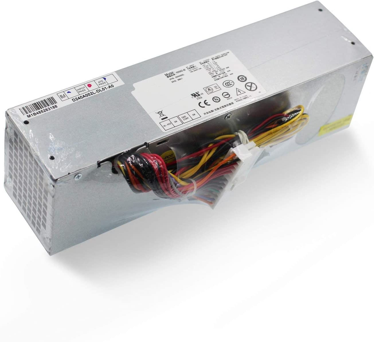AooFit H240AS-00 240W Power Supply Compatible For Dell Optiplex 390 790 990 3010 7010 9010 Small Form Factor Systems 3WN11 PH3C2 2TXYM 709MT L240AS-00 H240ES-00 D240ES-00 AC240AS-00
