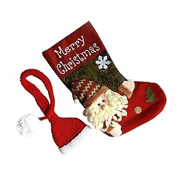 Kalebay Saco de Dormir para bebé de Navidad, Alce Tridimensional/Papá Noel/muñeco de Nieve, Gorro de Papá Noel, Adecuado para Disparos de Navidad recién ...