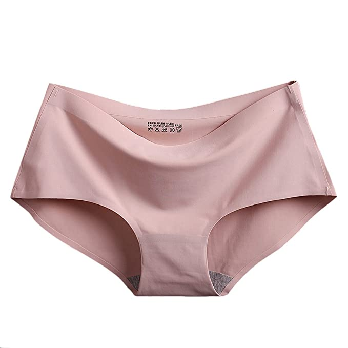 TININNA 5 Piezas Bragas Braguita Pantalones de Mujer Invisible, Costuras Señoras Ropa Interior, L: Amazon.es: Hogar