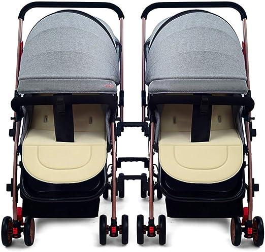 Cochecito de bebé gemelo doble para Recién Nacido 7,8
