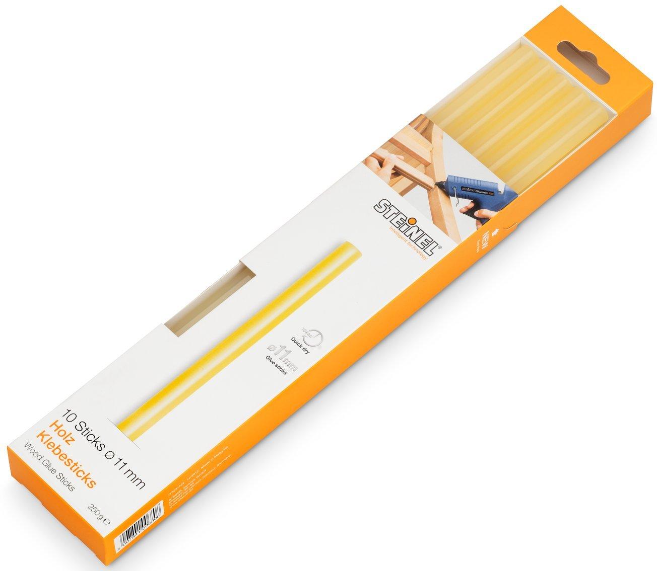 Steinel 006778 Stick di Colla per Legno, con Diametro 11 mm, Confezione da 250 G