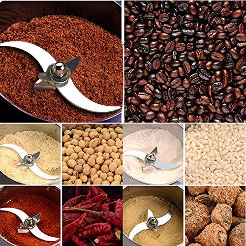 Marada 750g Pulverizer Grinding Machine Stainless Steel 25000 r/min Pulverizer Machine for Kitchen Herb Spice Pepper Coffee Powder Grinder (750g)  by Marada (Image #9)