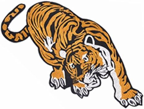 Parche bordado para coser o planchar con diseño de tigre para ...