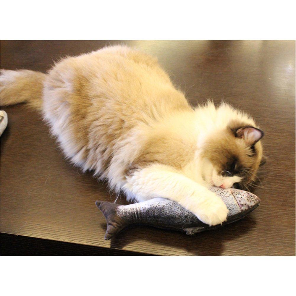 salm/ón juguetes de peluche 20 cm TREESTAR Juguetes interactivos para mascotas 1 unidad felpa perros gatos