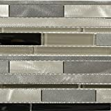 Aluminum Waterfall Nero Ice (Sold by:SHEET) ALUWTRFNEROIC