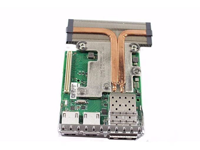 Amazon com: Dell/Intel X710 2+2 i350 1Gb/10GbE SFP+ QP rNDC