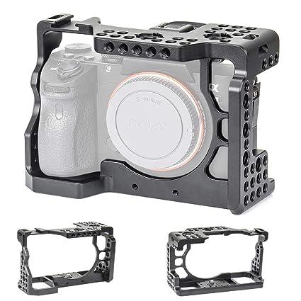 Sutefoto Jaula para cámara: Amazon.es: Electrónica