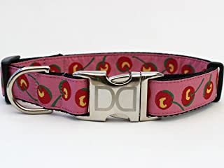 product image for Diva Dogs UBS98 Cherries Dog Collar - Extra Large Sized