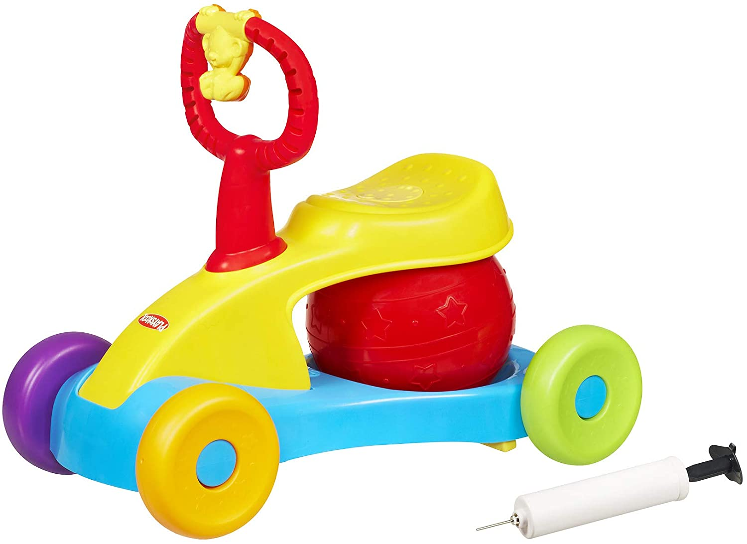 Playskool Bounce and Ride Active Toy Ride-On for Toddlers 12 Months and Up with Stationary Mode, Music, and Sounds (Amazon Exclusive)