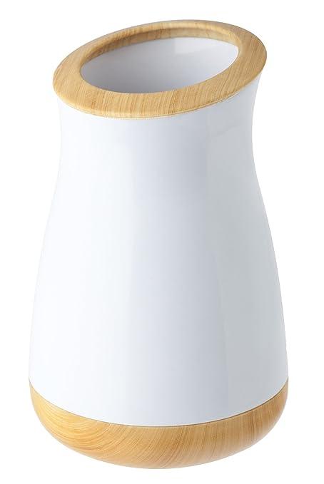 VIGAR Ofuro - Bote para cepillos de dientes, color blanco