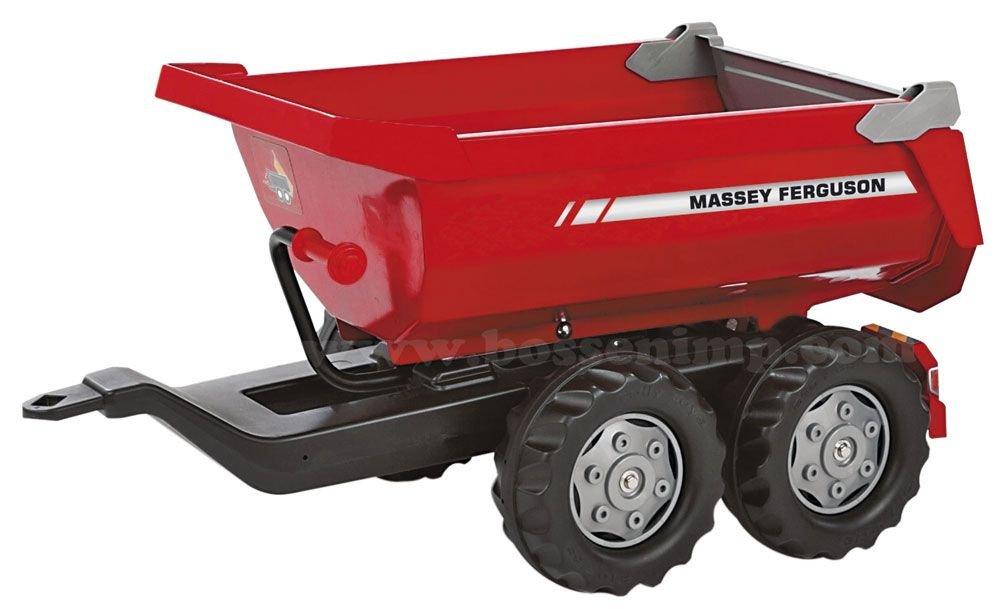 Massey Ferguson - Massey Ferguson Twin-Axle Tipping Trailer for Plastic Pedal Tractors by Massey Ferguson (Image #1)