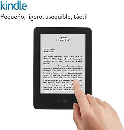 E-reader Kindle, pantalla táctil antirreflejos de 6 (15,2 cm), Wi-Fi (generación anterior - 7ª): Amazon.es