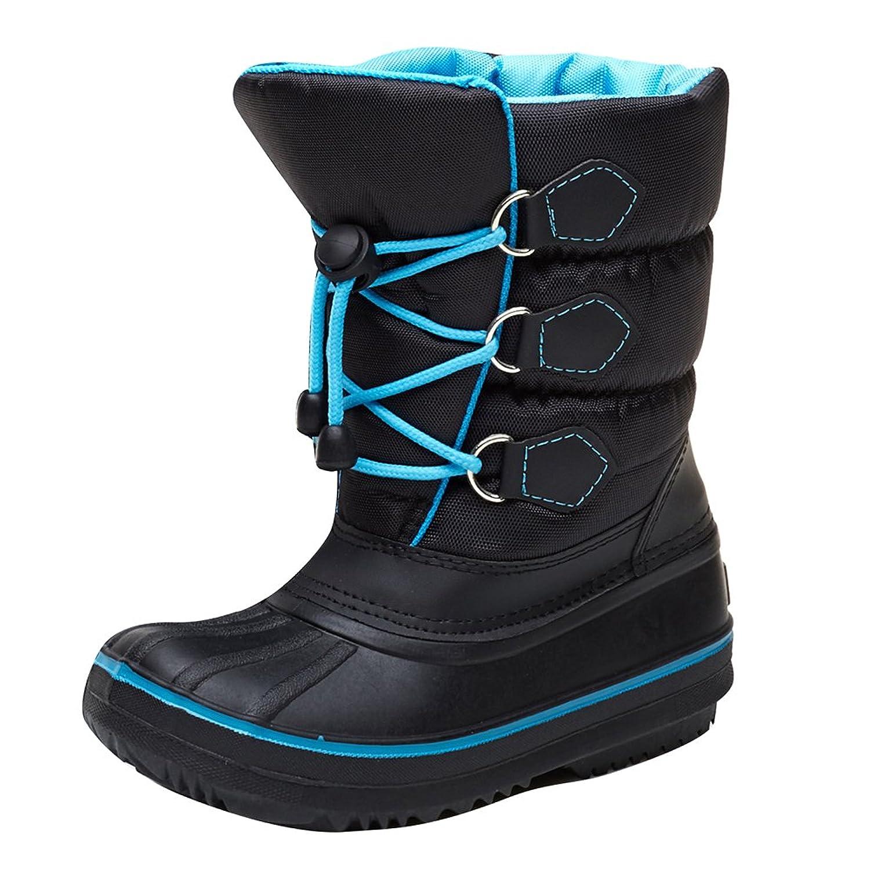 982ef0c06994f Hibote Bottes de Neige Enfant - Unisexe Fille Garçon Boots Hiver Chaudes  112706