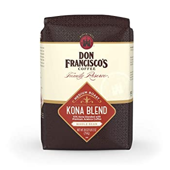 Don Francisco's Medium Roast Kona Coffee