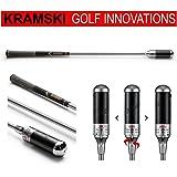 KRAMSKI Schwungtrainer - Hole in One - Impact Swing Trainer + 1 x Killagolf Ballmarker | das exclusive Golfgeschenk !