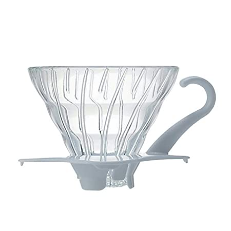 Hario Coffee Dripper V60 Size 01 White Glass [Kitchen ...