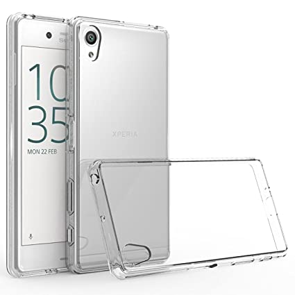 the best attitude cbe5c 4ac47 Thinkzy SO2T1 Soft Back Case Cover for Sony Xperia XA: Amazon.in ...