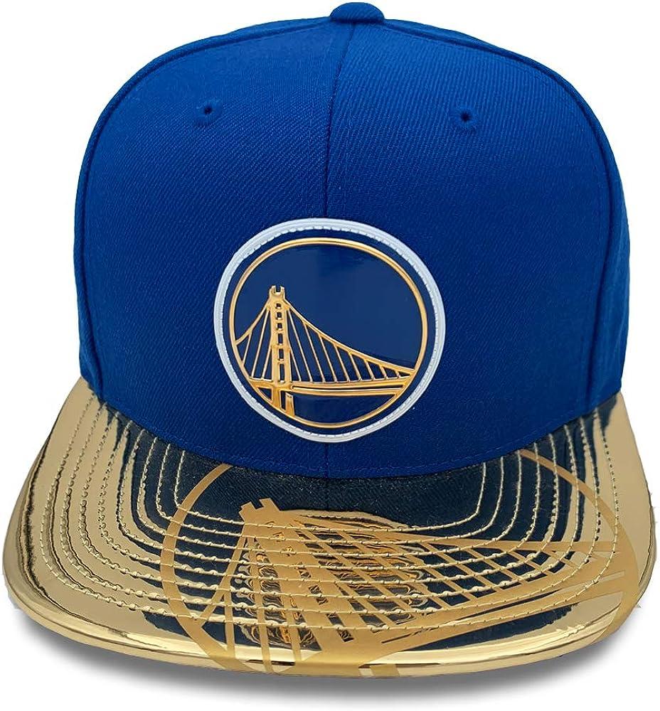 Mitchell & Ness Golden State Warriors Snapback - Gorra de Piel de ...
