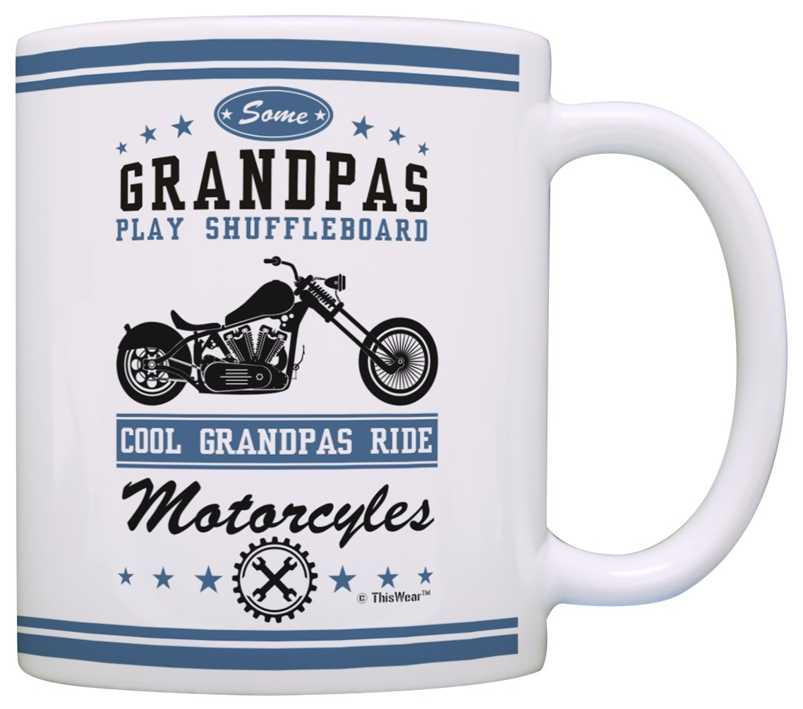 Amazon.com Grandpa Gifts Cool Grandpas Ride Motorcycles Biker Father Day Gifts for Grandpa Gifts from Grandson Grandma Gift Coffee Mug Tea Cup White ...  sc 1 st  Amazon.com & Amazon.com: Grandpa Gifts Cool Grandpas Ride Motorcycles Biker ...