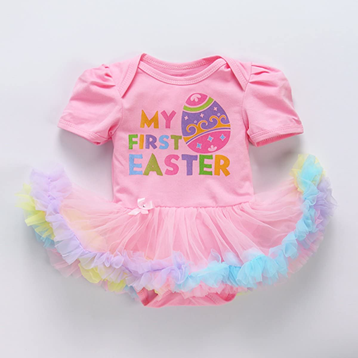 My First Easter Egg Bunny Tutu Baby Grow Outfits Costume Fancy Dress Clothes