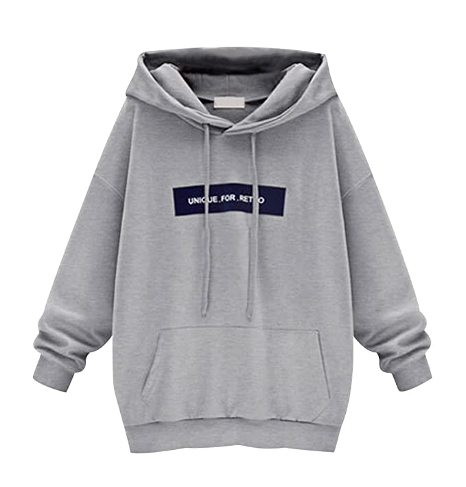 new style 31efd 1a37f ISSHE Oversized Kapuzen Hoodie Sweatshirt Damen ...