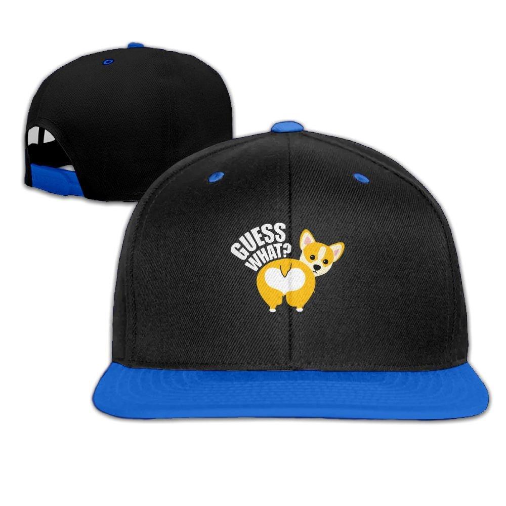 Humaoe Corgi Butt Fashion Peaked Baseball Caps//Hats Hip Hop Cap Hat Adjustable Snapback Hats Caps For Unisex