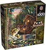 Masterpieces 1000-Piece Jigsaw Puzzle, 19.25 by 26.75-Inch, Gone Fishing