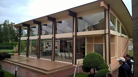 ECOHOUSEMART | Casa de marco de madera, kit de salón | Prefab DIY Cabina de construcción hogar | GLT Engineered Wood Glulam | 1000 Sq. pies: Amazon.es: Bricolaje y herramientas