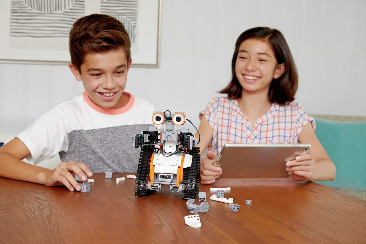 UBTECH JIMU Robot Astrobot Series: Cosmos Kit / App-Enabled Building and Coding STEM Learning Kit (387 Parts and Connectors) by UBTECH (Image #7)