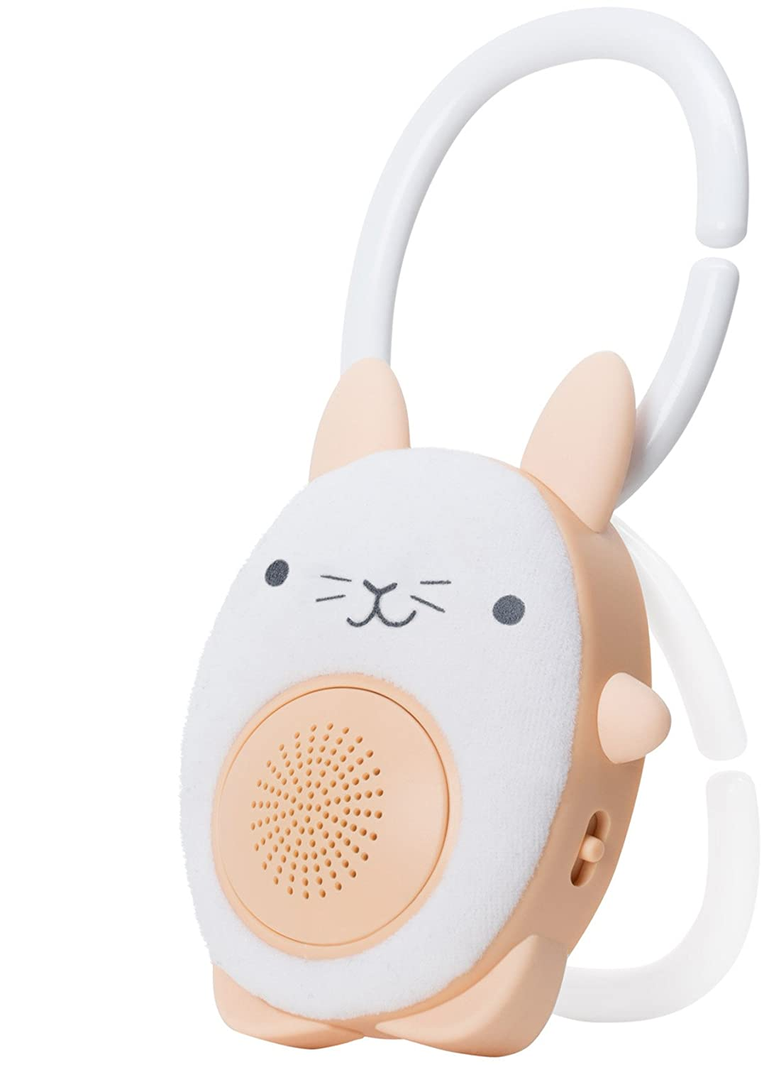 SoundBub, White Noise Machine and Bluetooth Speaker | Portable and Rechargeable On-the-Go Infant Shusher & Baby Sleep Aid Sound Soother by WavHello – Benji the Bear, Brown WH-21-433
