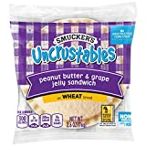 Smucker's Uncrustables, Peanut Butter and Grape, Wheat, 2.6 oz, (72 count)
