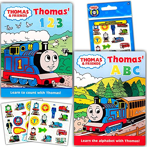 "Thomas the Train ""My First Books"" Set of 2 Jumbo Toddler Boa"