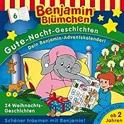 24 Weihnachtsgeschichten (Benjamin Blümchen Gute Nacht Geschichten 6) | Klaus-Peter Weigand